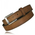 "1.25"" Tucson Full Grain Bison Leather Snap Off Buckle"