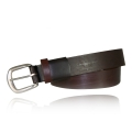 "1.5"" Brown Full Grain Leather Elastic"