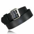 "1.5"" Black Full Grain Leather"