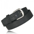 "1.5"" Full Grain Black Bison Leather"
