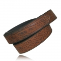 "1.5"" Tucson Full Grain Bison Leather Hook & Loop Tipped"