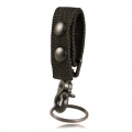Belt Keeper with Deluxe Swivel Key Snap, Ballistic Weave