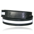 "1 1/2"" Lined Covered Buckle Mechanics/Movers Belt with 1/2"" Reflective Ribbon"
