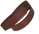 "1 1/2"" HOOK AND LOOP TIPPED BELT - BRN"
