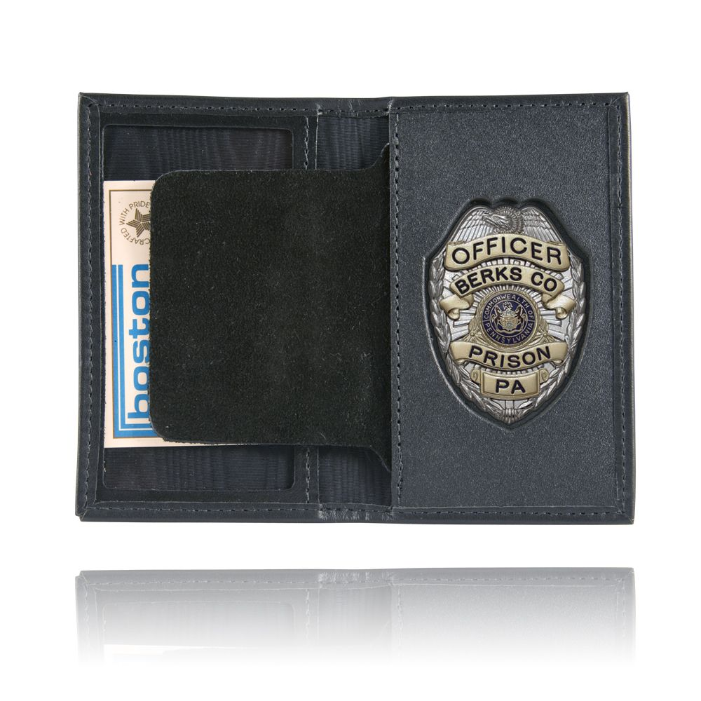 Book Style Badge Case, Oversized ID Window