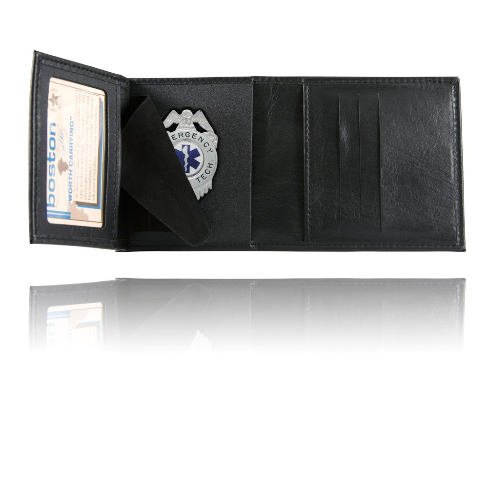 Trifold Badge Wallet, Soft