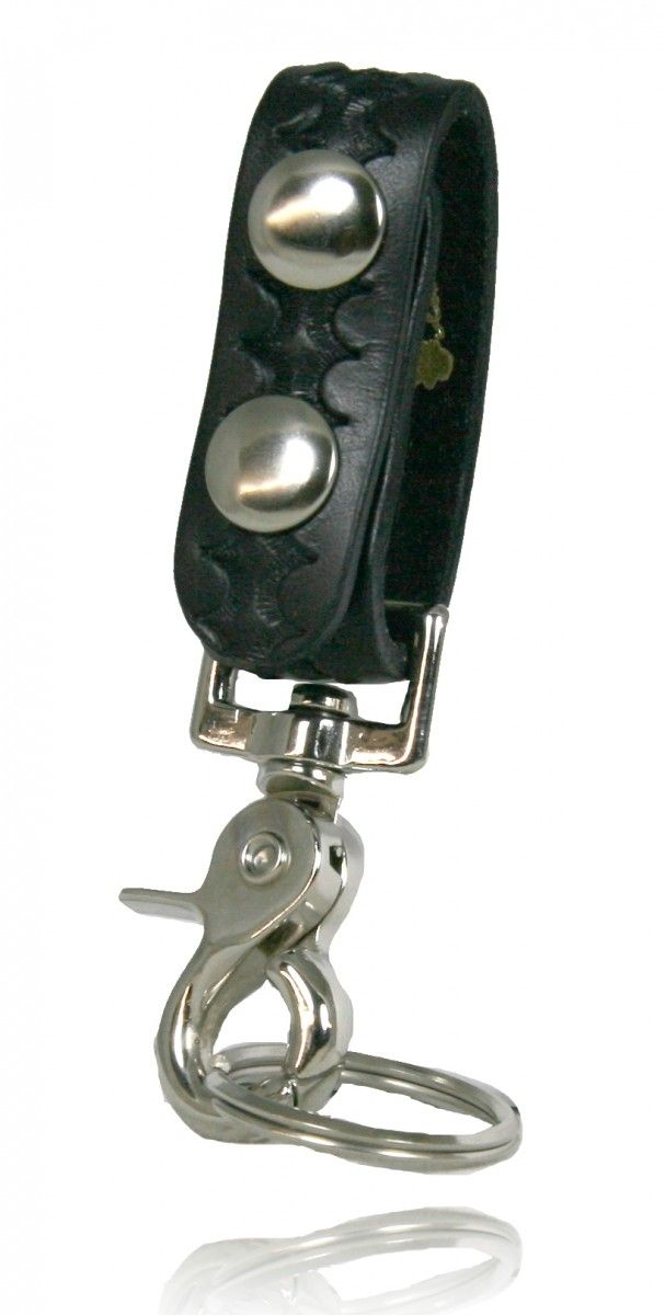 Belt Keeper with Deluxe Swivel Key Snap