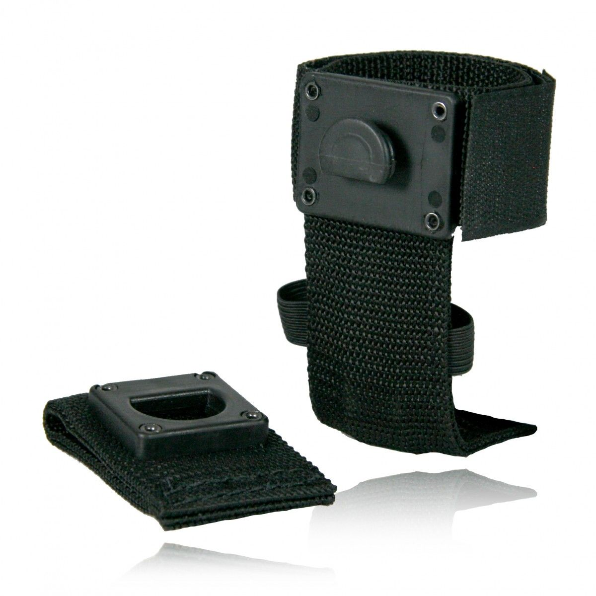 "Deluxe Adjustable Radio Holder 4"", Swivel, Ballistic Weave"