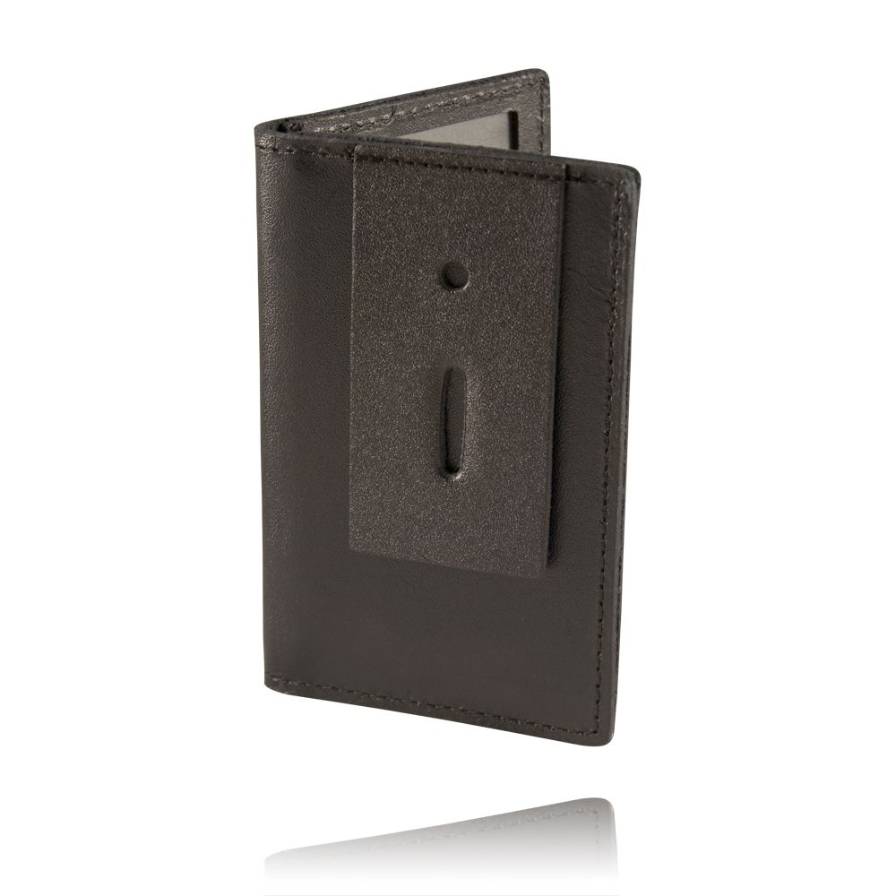 Double Oversized ID Holder with Flap, Soft