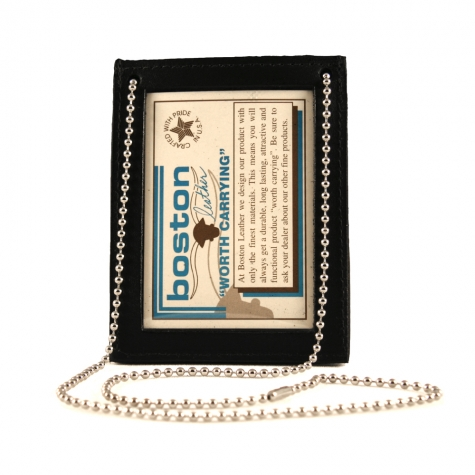 Neck Chain Double ID Holder