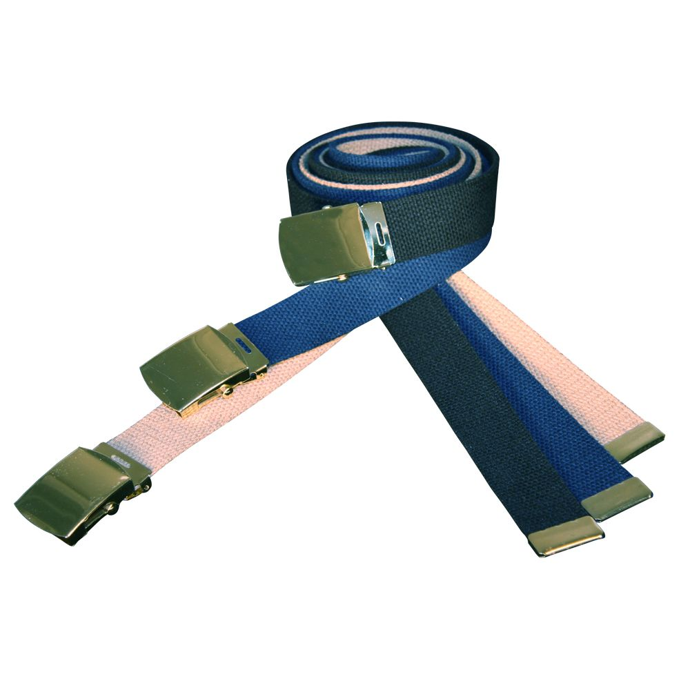 1-1/4 Cotton Web Belt with Buckle
