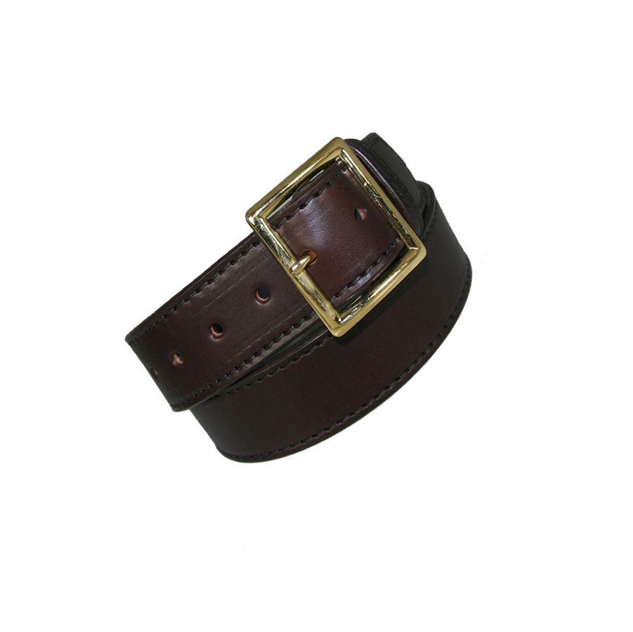 "1 3/4"" Garrison Belt - Brown Lined"