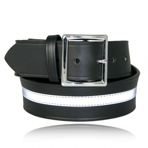 "1 3/4"" Garrison Belt with 1/2"" Reflective Ribbon"