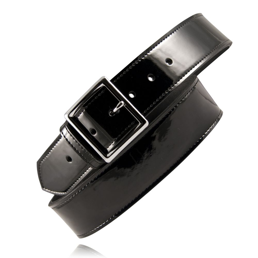 Boston Leather 1-1//4 Garrison Leather Belt Made in USA