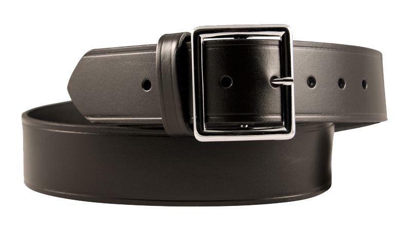 "Plain Finish Boston Leather 1-1//2/"" Mechanics/' Movers/' Belt Black"