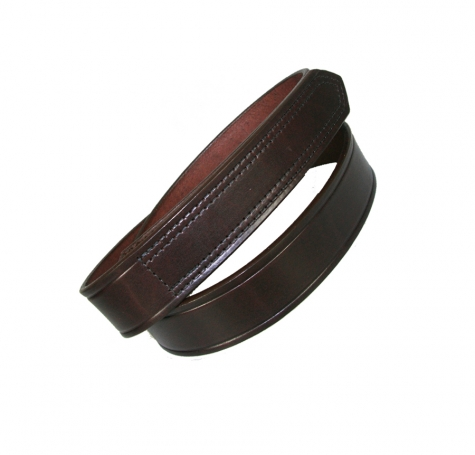 "1 1/2"" HOOK AND LOOP TIPPED BELT - BROWN"