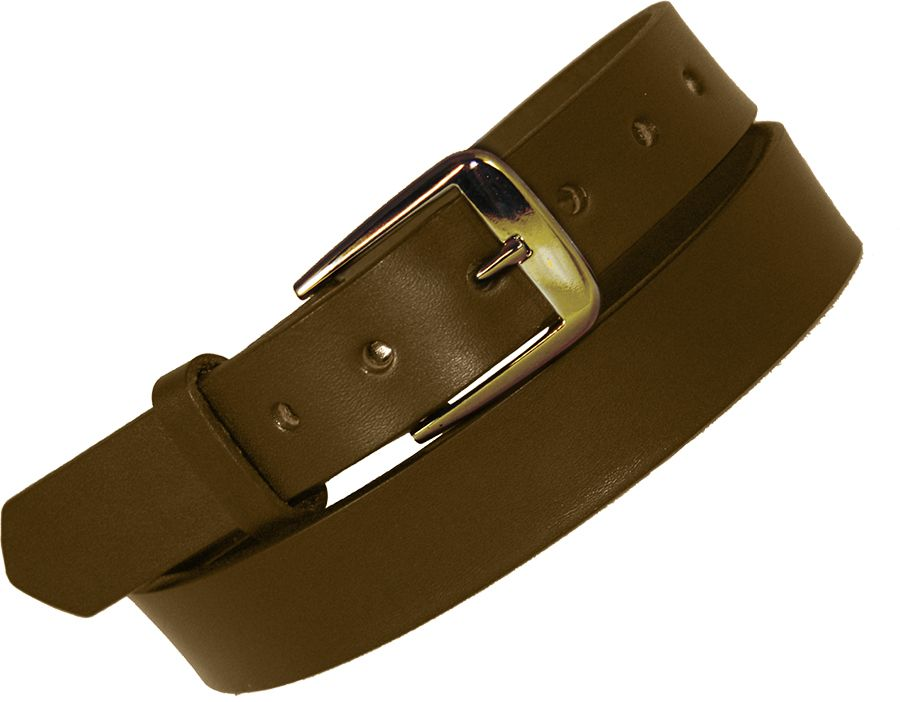 "1 1/4"" No Lines Off Duty Belt - Brown"
