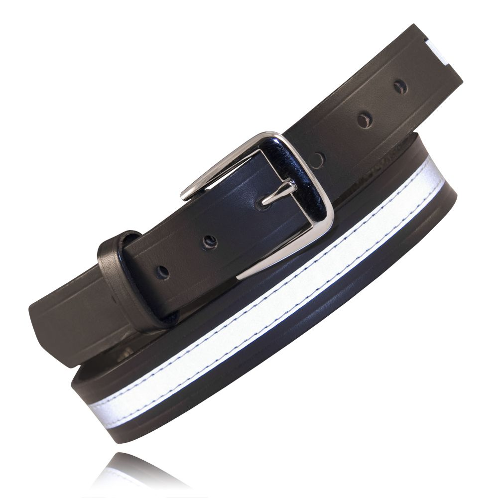 "1 1/4"" Off Duty Belt with 1/2"" Reflective Ribbon"
