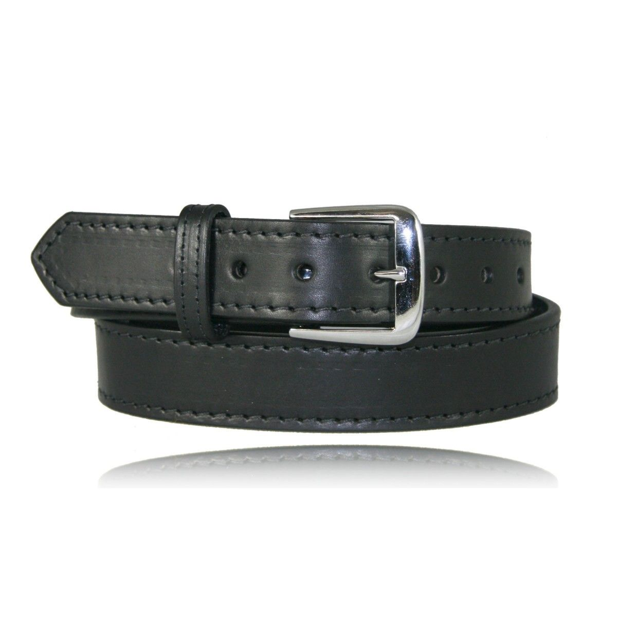 "1 1/2"" Stitched Off Duty Belt"
