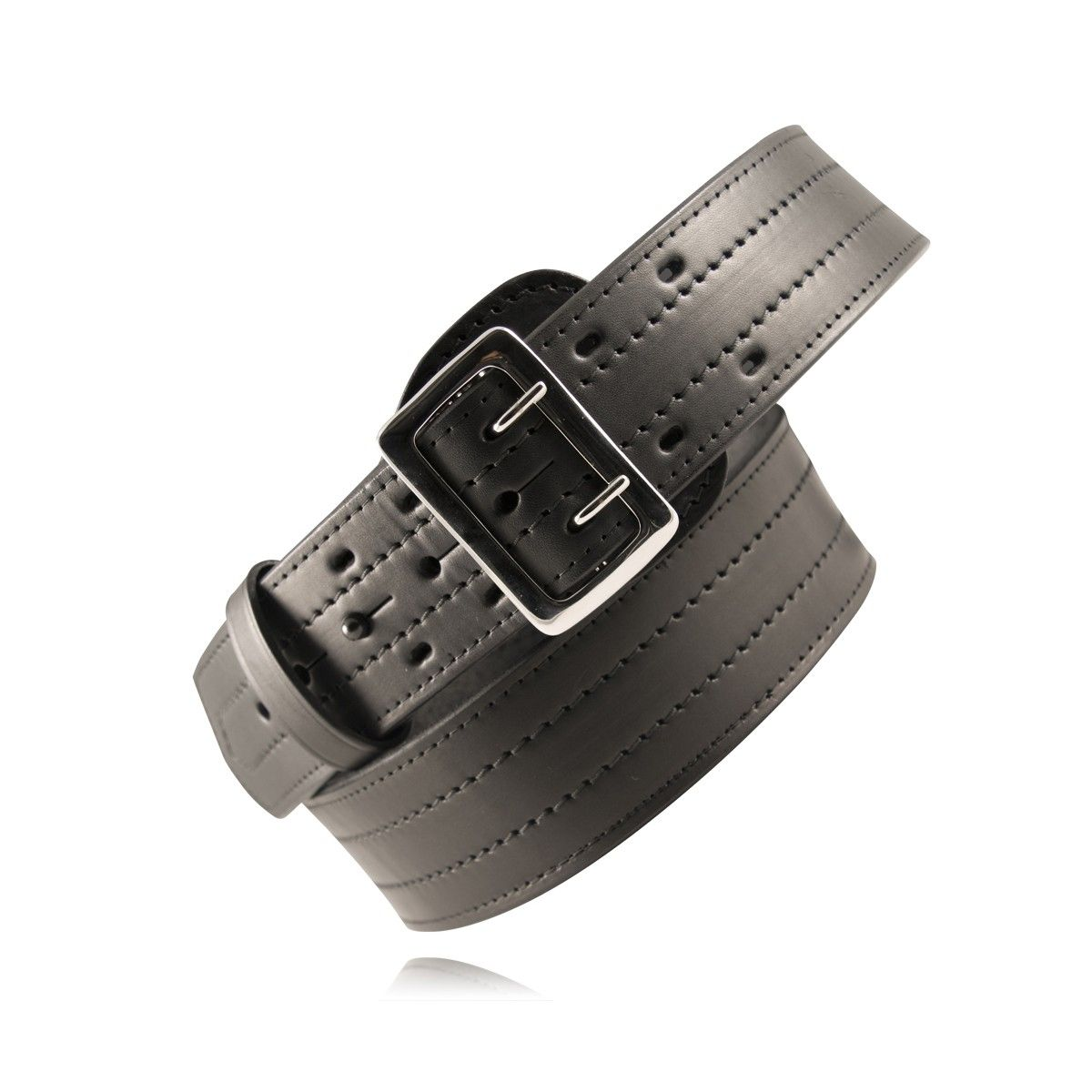 "2 1/4"" Four-Row Stitched Duty Belt (American Value Line)"