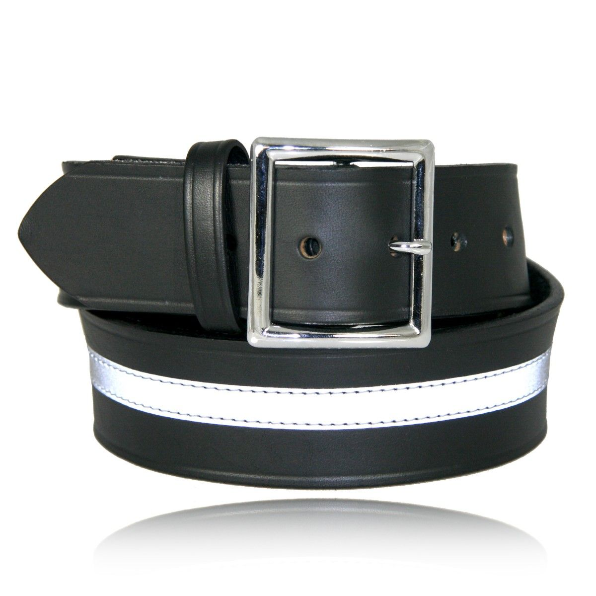 "1 3/4"" Reflective Garrison Belt (American Value Line)"
