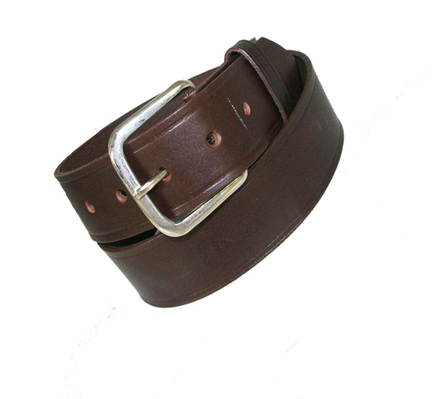 "1 1/2"" OFF DUTY BELT (AMERICAN VALUE LINE) - BRN"