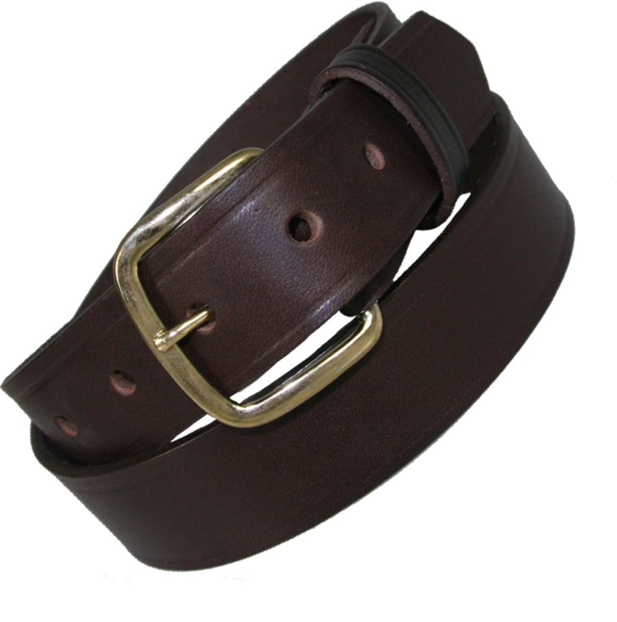 "1 1/4"" OFF DUTY BELT (AMERICAN VALUE LINE) - BRN"