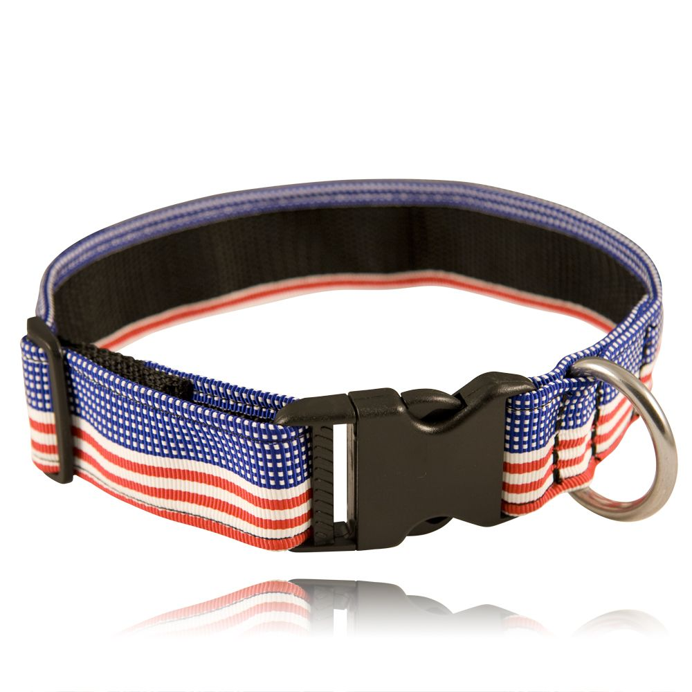 "1 1/2"" Decorative Embroidered Collar, Patriotic"