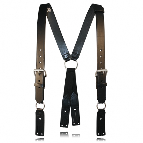 "Firefighter's Suspenders, Button Attachment, 3"" Longer"